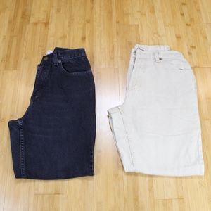 Lot of LL Bean Natural Fit Jeans Size 8 Petite
